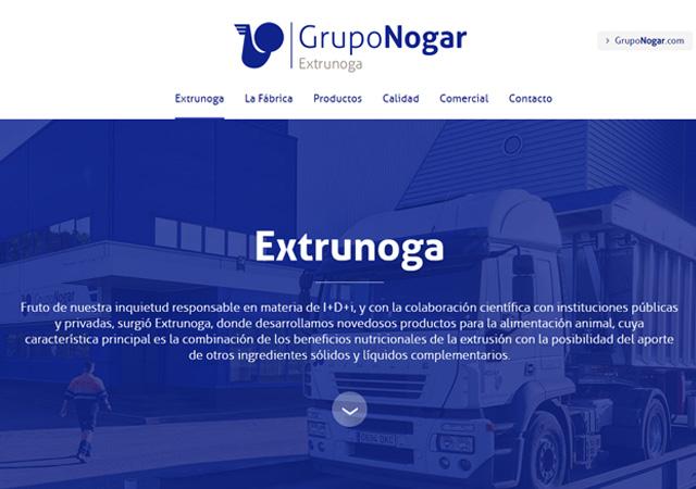Nueva web Extrunoga